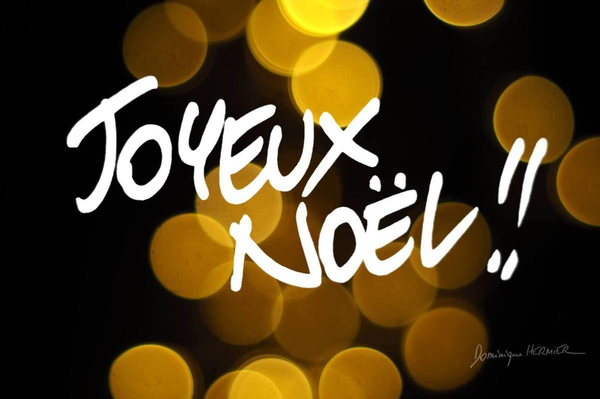 Joyeuses fêtes à tous!