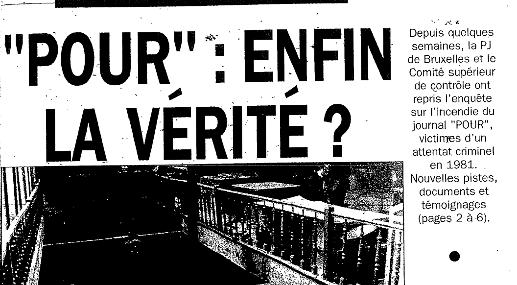 """""""Pour"""" : Enfin la vérité?"""