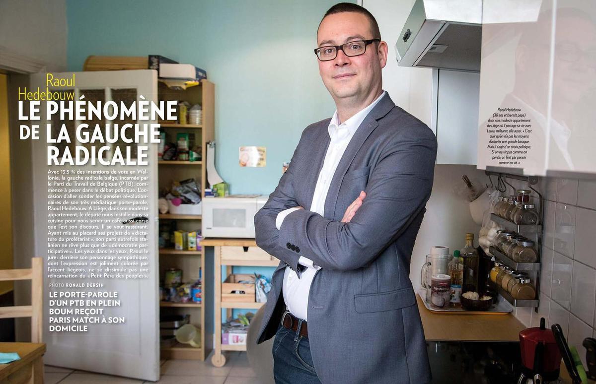 Un café chez Raoul Hedebouw