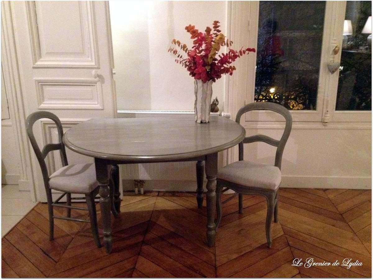 Table, chaises et fauteuils patinés - Relooking de meubles, meubles ...