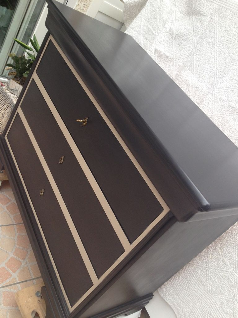 Relooking d'une commode Louis Philippe