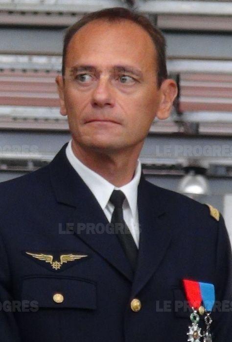 Colonel Thierry MARZOCCHI, Commandant le Détachement Air N° 278 d'Ambérieu en Bugey
