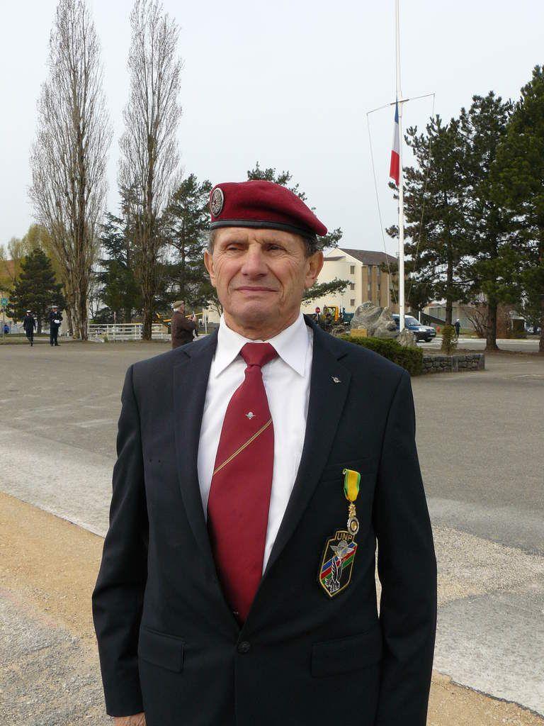 La Médaille Militaire pour Gilbert LANARO
