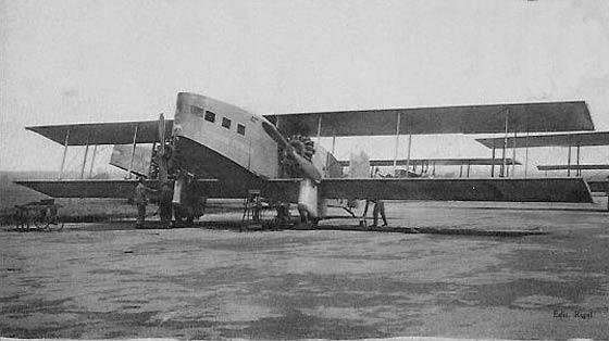 C'est de ces avions que les GIA sautaient en 1938