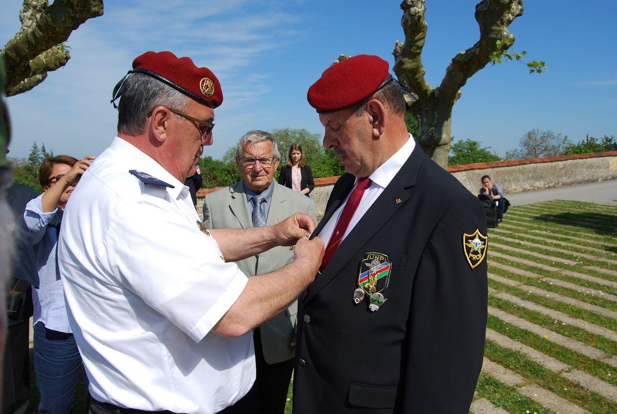Médaille du Mérite UNP pour Michel ARDON