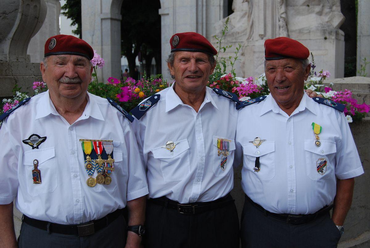 La médaille militaire pour Alexandre GEORGIEFF