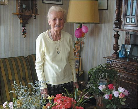 Une grande Résistante, Irène CLAIR, nous a quitté