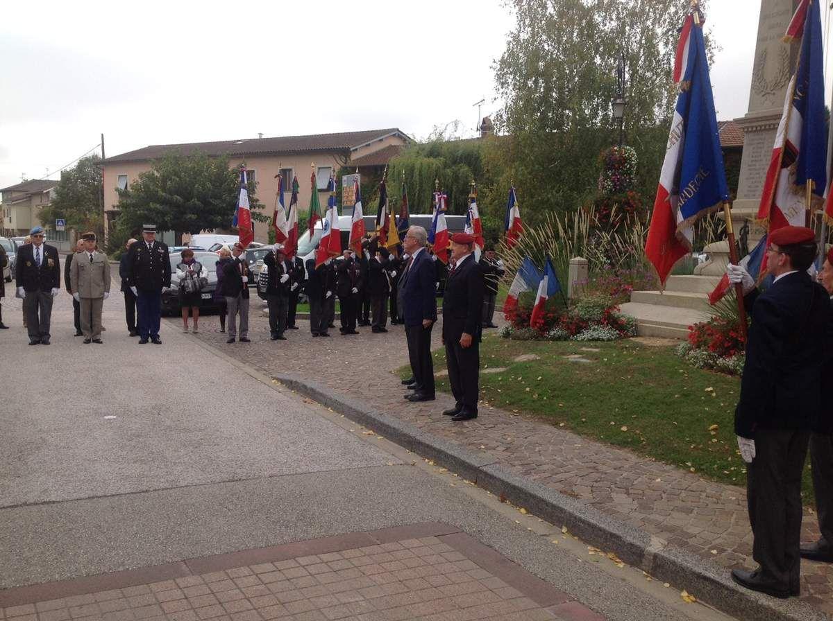 Saint Michel départementale de l'Union Nationale des Parachutistes à Saint Vulbas dans l'Ain
