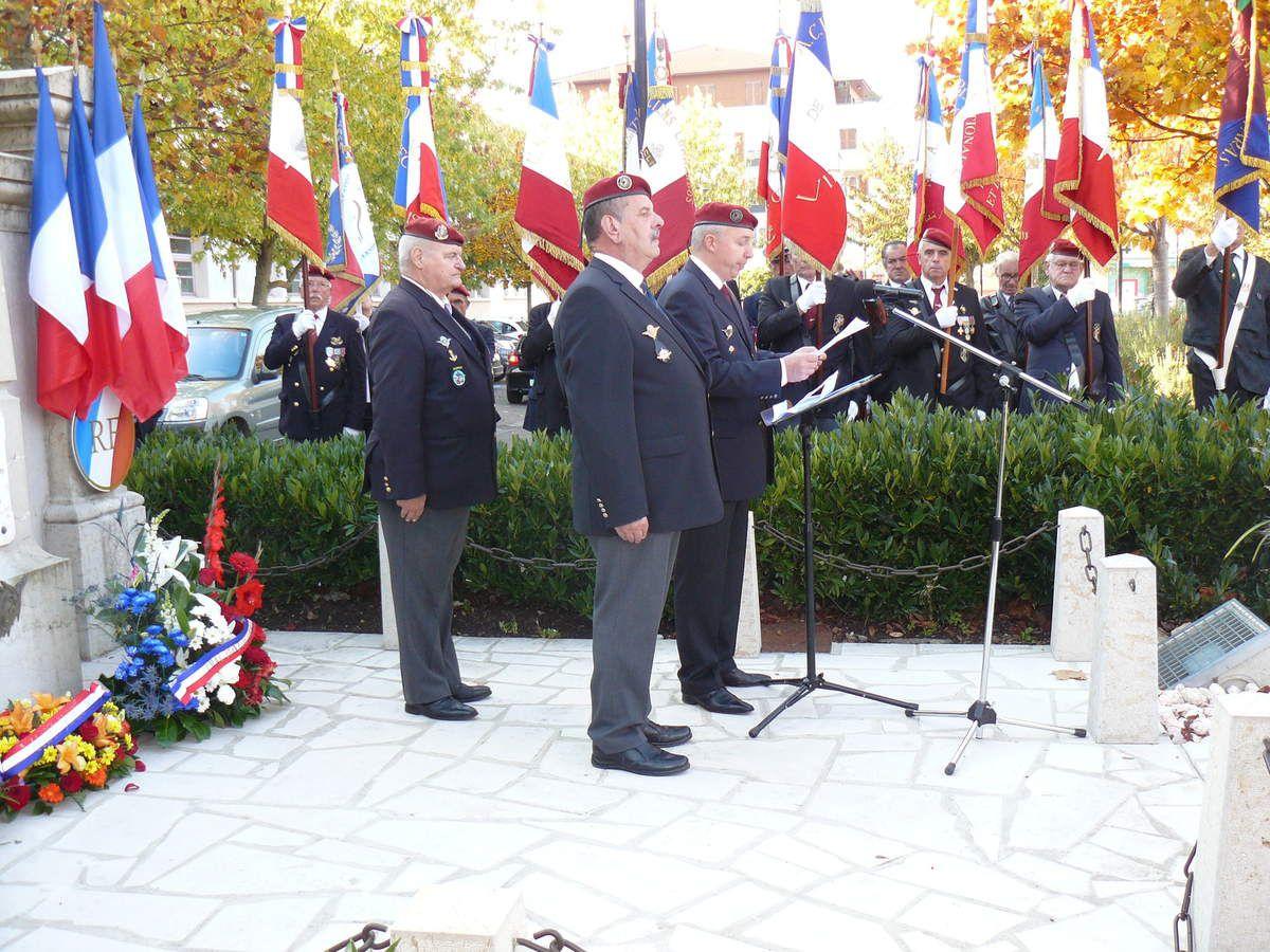 Commémoration 33 ème anniversaire Drakkar à Pont de Cheruy