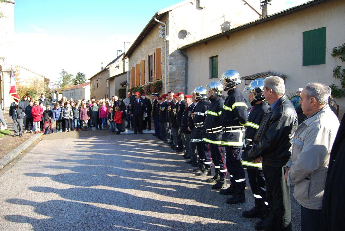 Cérémonie du 11 novembre 2016 à Saint Vulbas