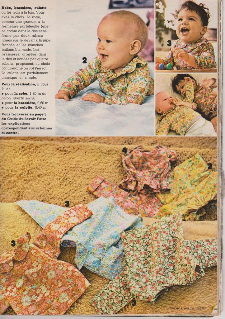 Symphonie pour bébés fleuris