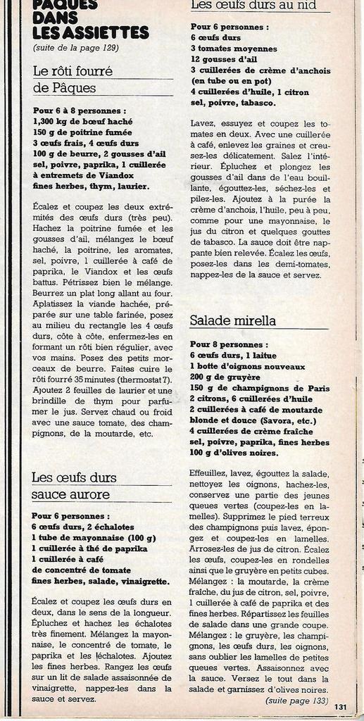 Des oeufs de Pâques, c(o)uvée 1976 !