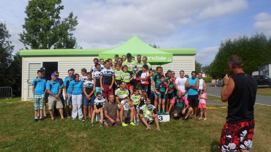 Finale championnat VTT UFOLEP Vendée