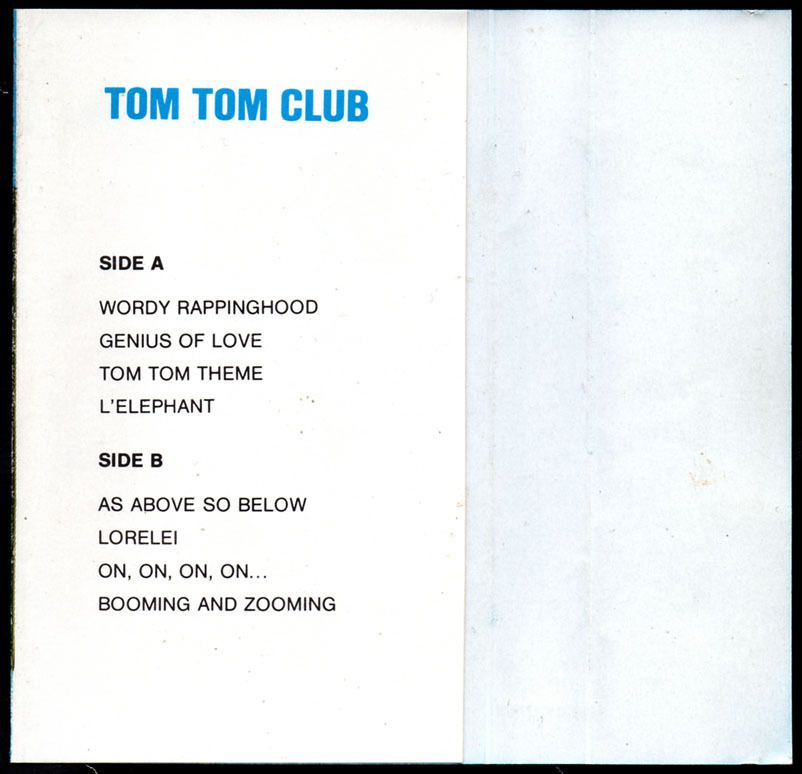 tom tom club - 1981