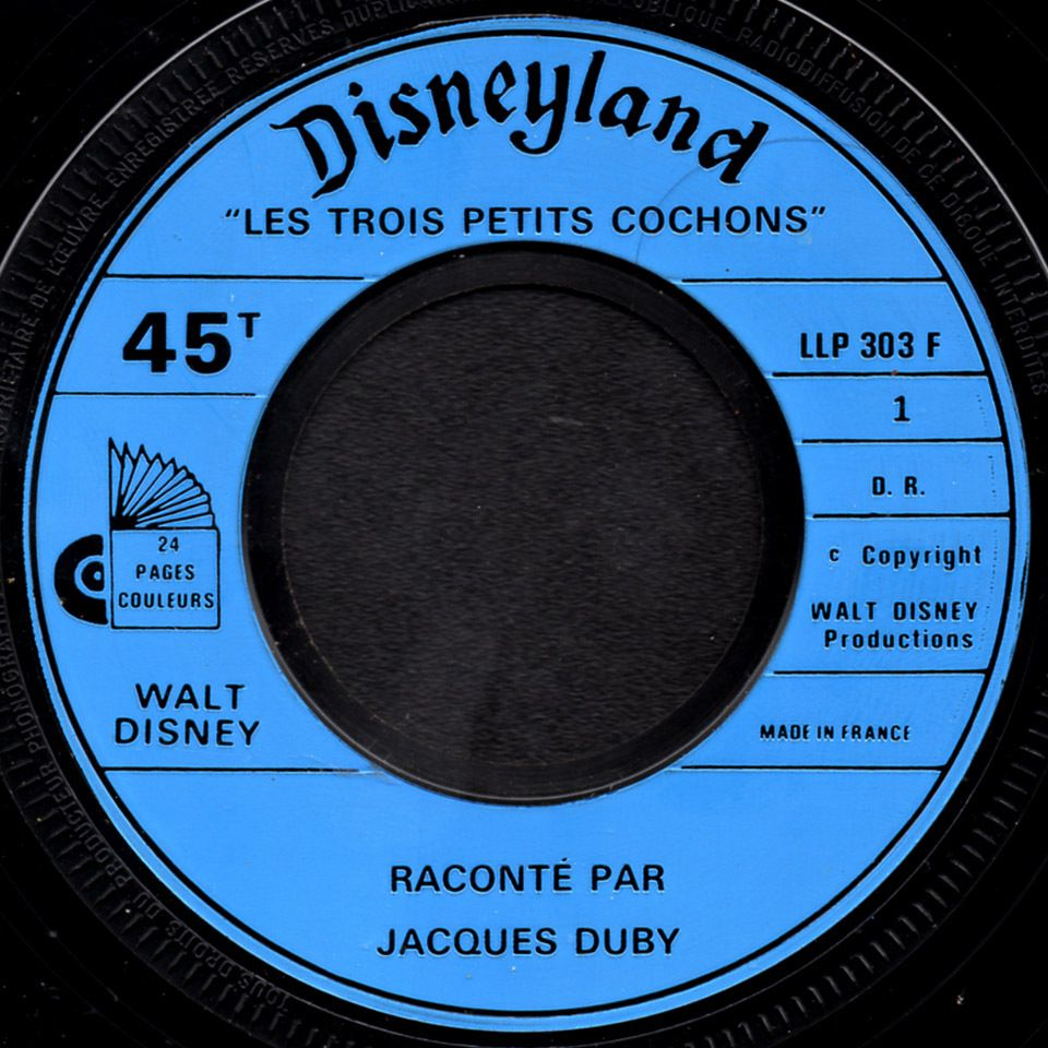 Les Trois petits cochons - raconté par Jacques Duby