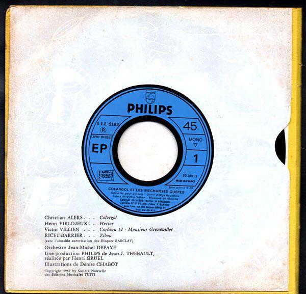 Colargol et les méchantes guêpes - 1967