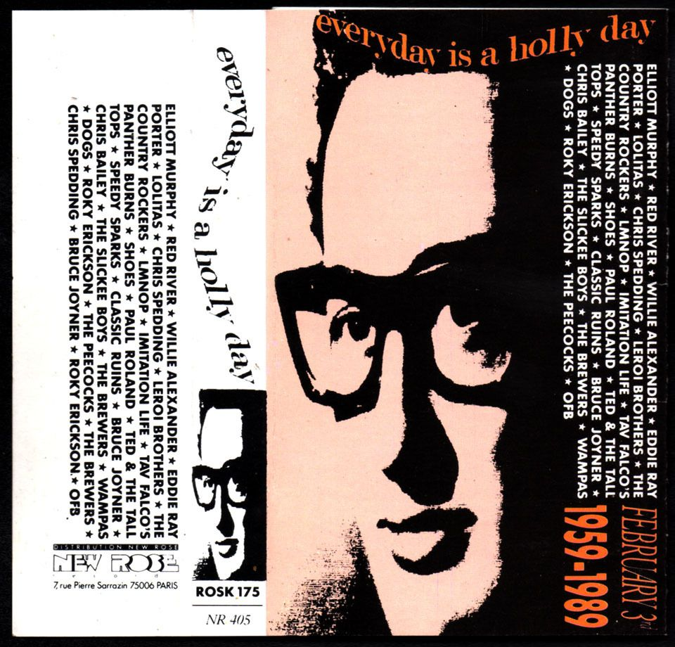 Everyday is a Hollyday - Compilation tribute to Buddy Holly - 1989
