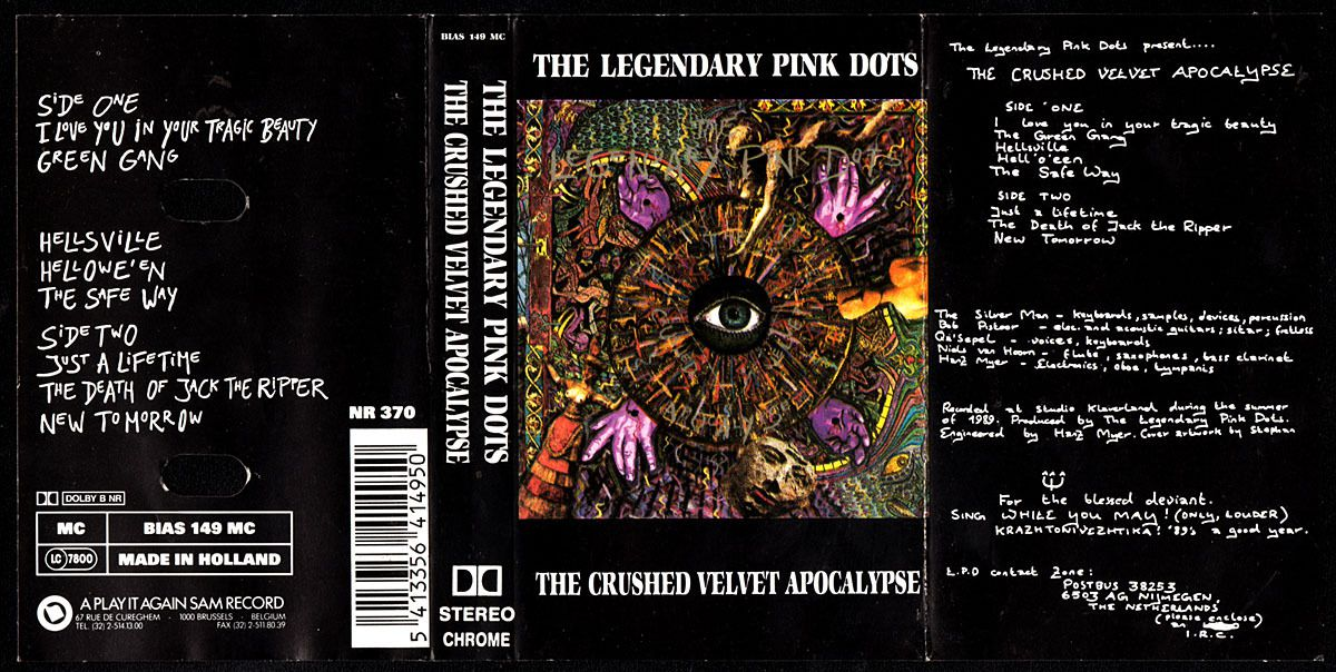 The legendary pink dots - The crushed velvet apocalypse - 1990