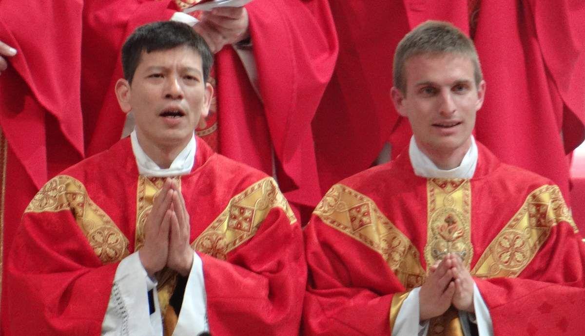 Ordinations : Paul et Sanche : 2 nouveaux prêtres ...
