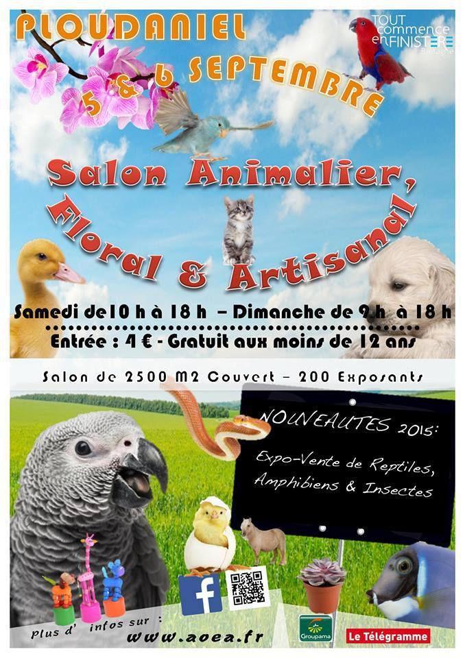 Salon Animalier, Floral et Artisanal de Ploudaniel