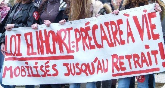 Album photos : manifestation 9 mars au Mans