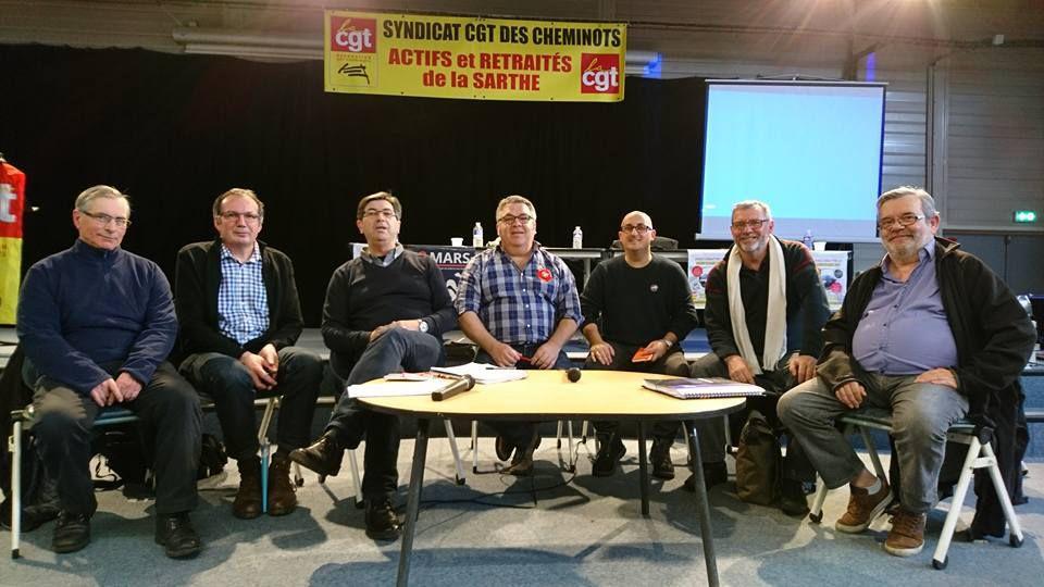AG de la Section CGT des retraités Cheminots du Mans 2 mars