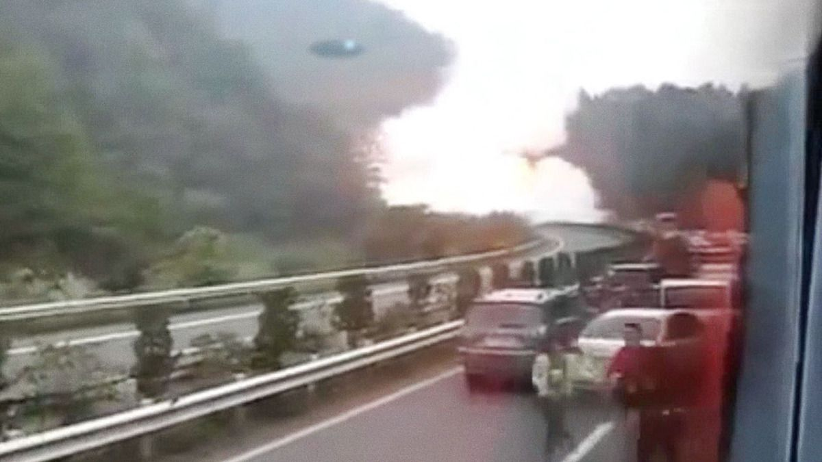 UFO causes chaos in CHINA !!! May 2014
