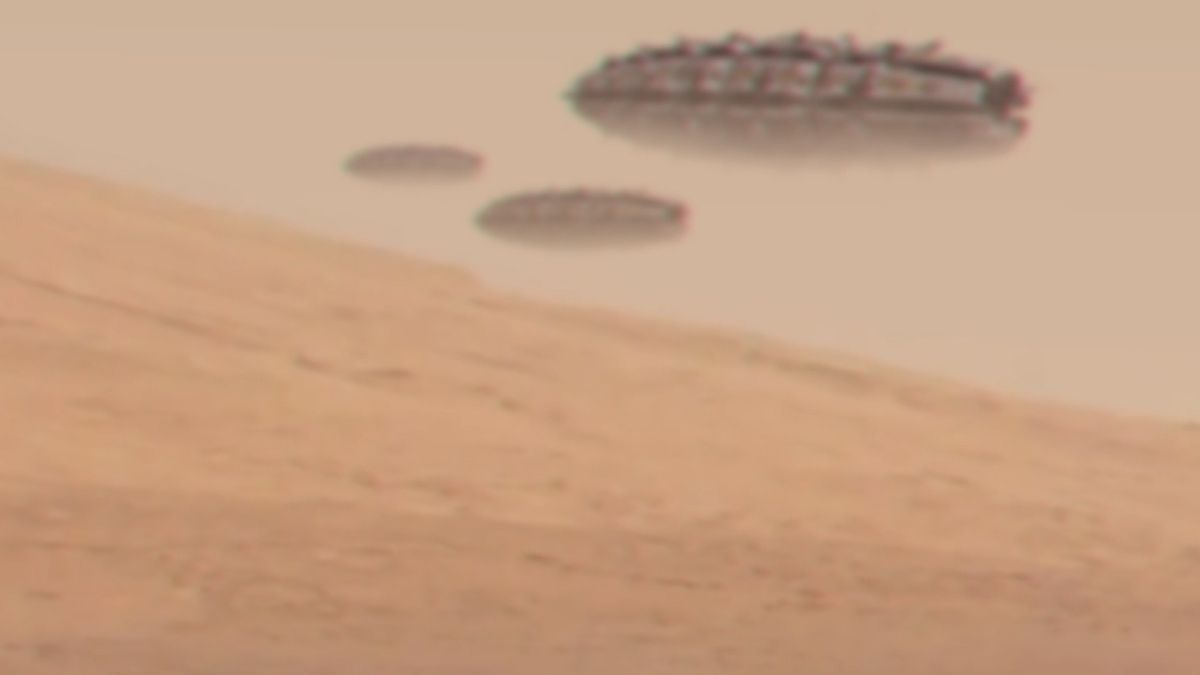 UFO fleet on MARS revealed by pictures from CURIOSITY !!! Nov 2012