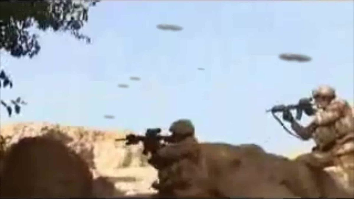 ALIEN LANDINGS IN JORM - AFGHANISTAN !!! Battle UFO with US RANGERS ! Nov 2013