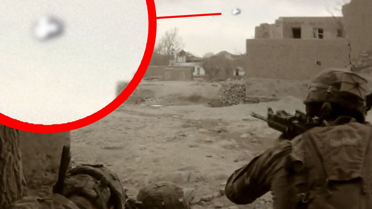 UFO filmed by US MARINES in AFGHANISTAN - Uruzgan District !!! Aug 2014
