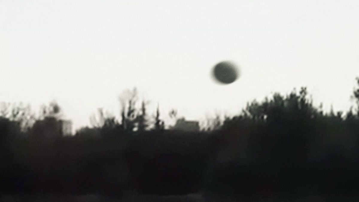UFO CRASH caught on camera over TADMUR - SYRIA !!! Dec 2014