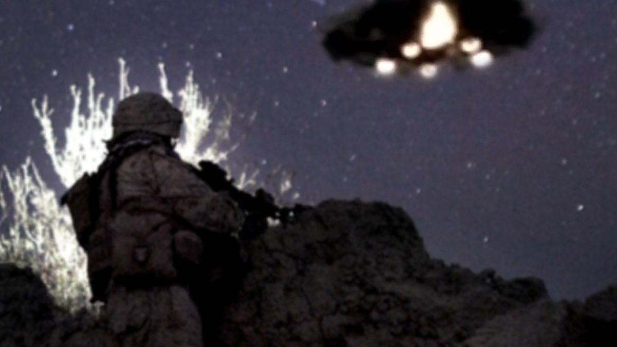UFO fleet over Taliban village reported by US Marines AFGHANISTAN !!! Nov 2013