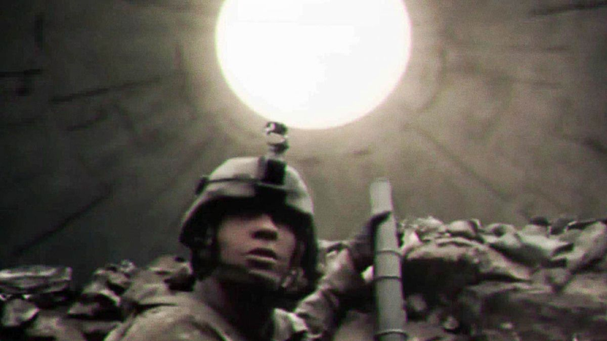 Massive UFO over US Marines in Nangarhar Province Afghanistan 2015