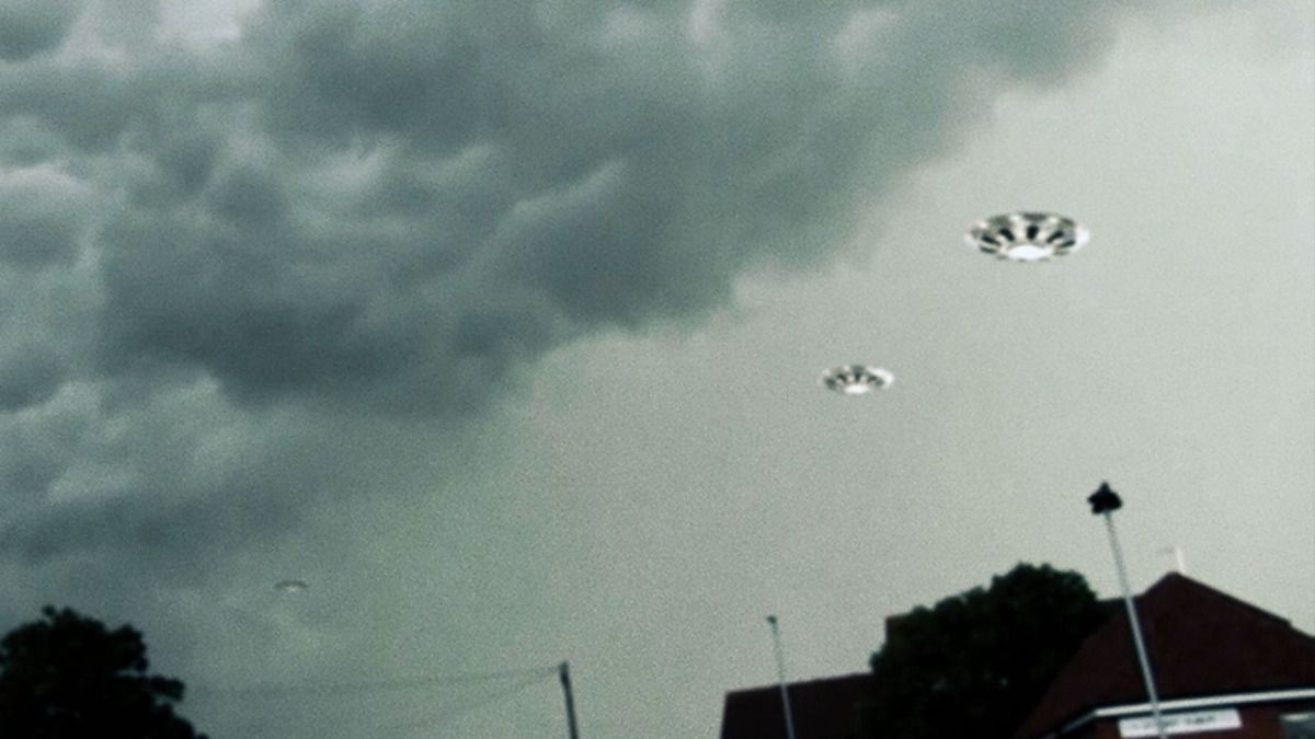 UFO fleet in Thunderstorm clouds over Boyton, Suffolk - May 2015
