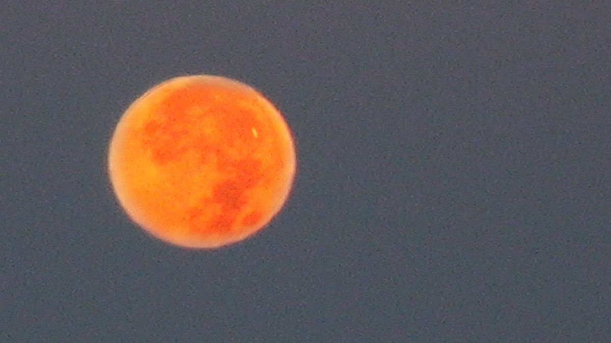 UFO filmed during Super Harvest Blood Moon Eclipse - Sept, 28 2015 !!!