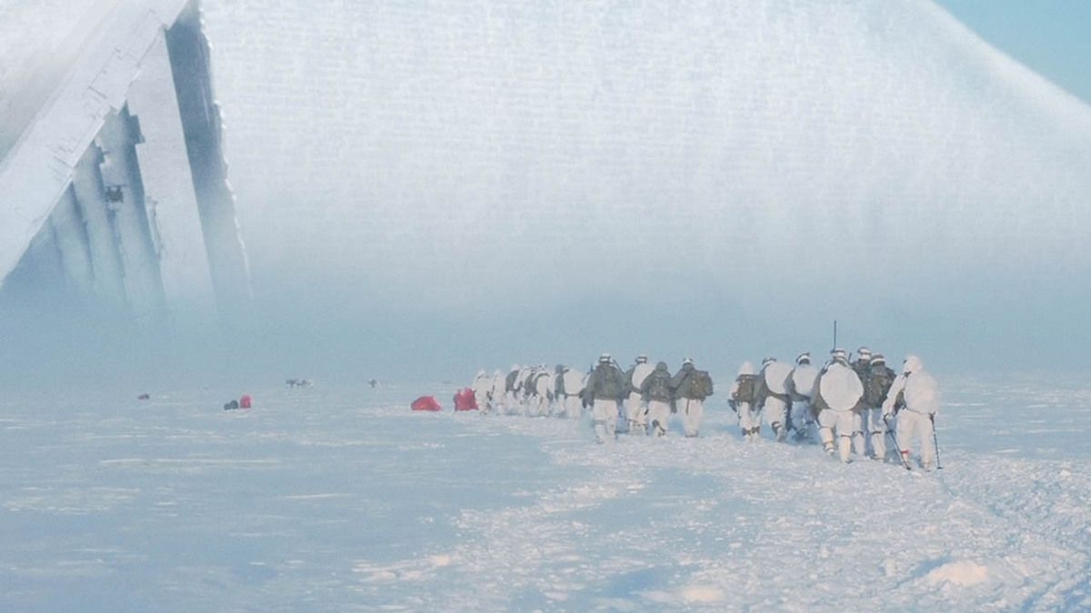 US Marines sent to explore Ancient Pyramids discovered in Antarctica !!! April 2017
