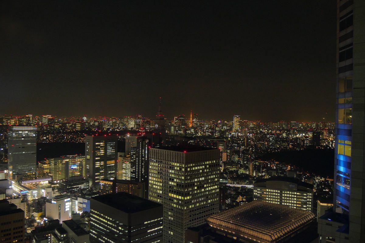 Vue de la mairie de Tokyo (Metropolitan Tower)