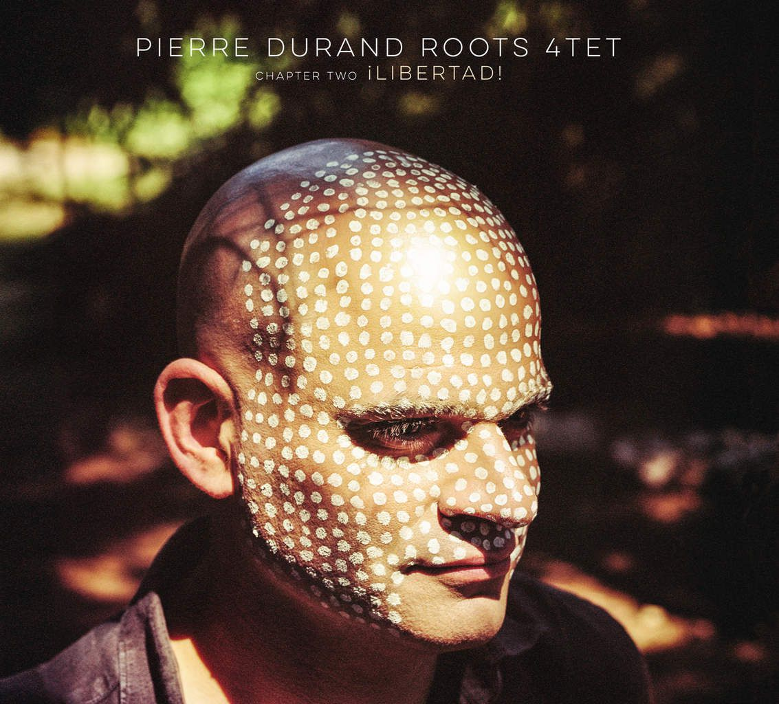"Pierre Durand ""ROOTS"" Quartet: Pierre Durand - guitars / Hugues Mayot - tenor saxophone / Guido Zorn: double bass / Joe Quitzke: drums"