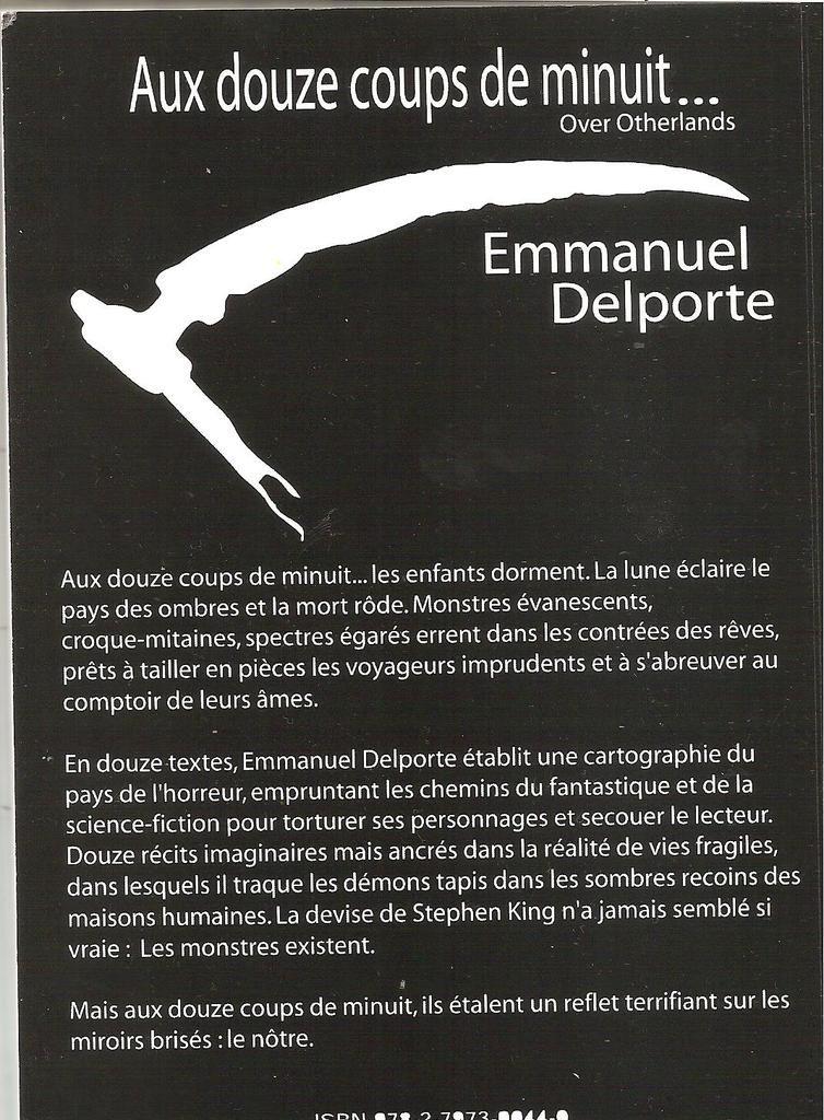 Gore le blog de francoisegrenierdroesch auteur fantastique - Les coups de minuits bande annonce ...