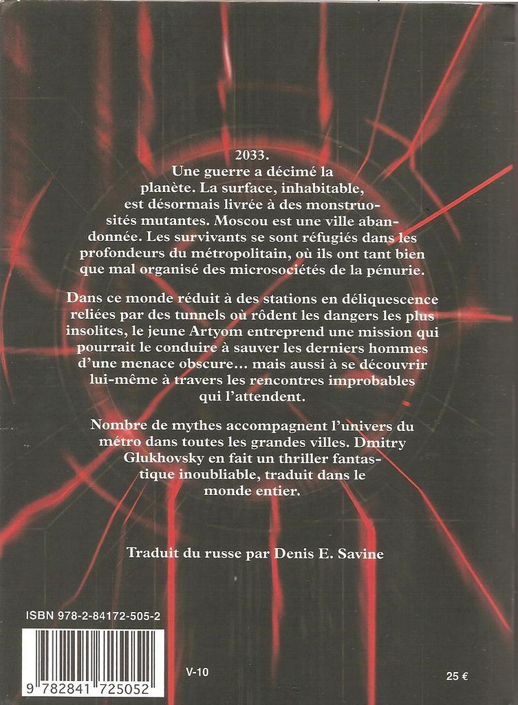 Belle édition de L'Atalante à 25 €. &#x3B; 631 pages