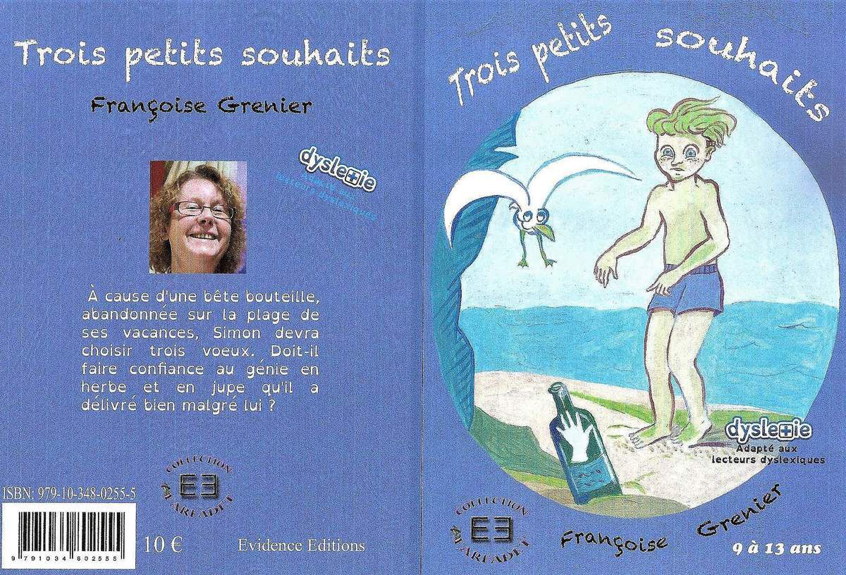 Trois petits souhaits Editions Evidence Collection Farfadet Illustration : Françoise Grenier (moi-même)