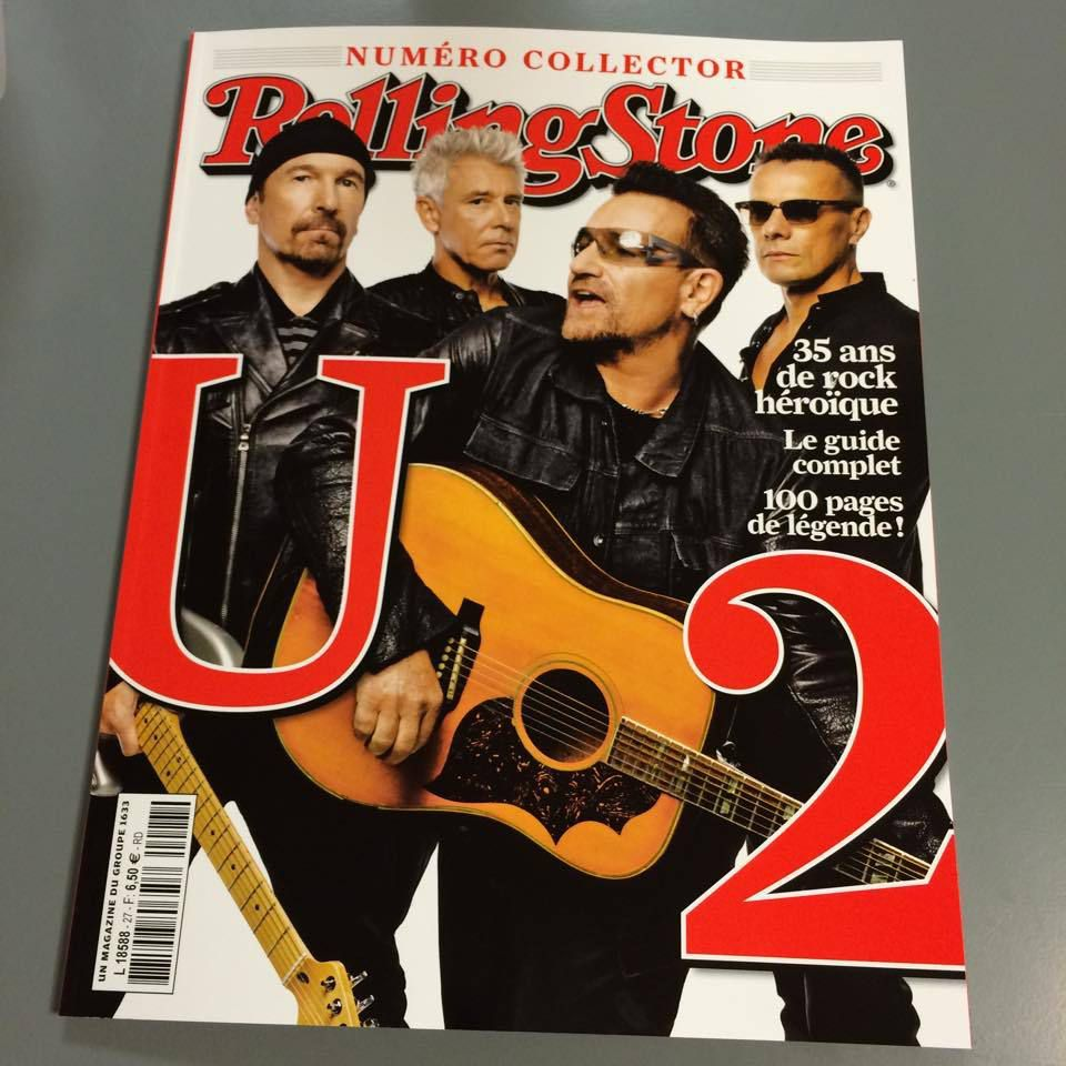 U2 Magazine Rolling Stone Collector 2015