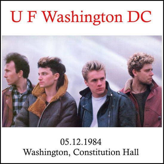 Unforgettable Fire Tour: Constitution Hall - Washington, District of Columbia, USA