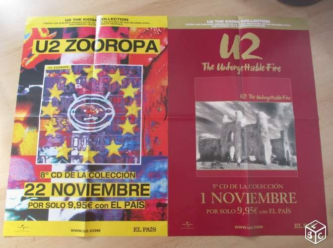 Zooropa et The Unforgettable Fire