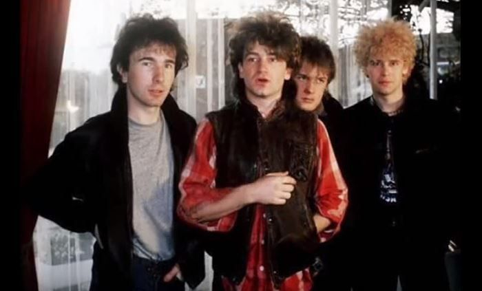 U2- I Threw a Brick Through a Window