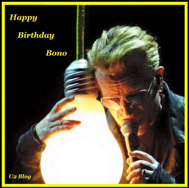 Happy Birthday Bono- 56 ans