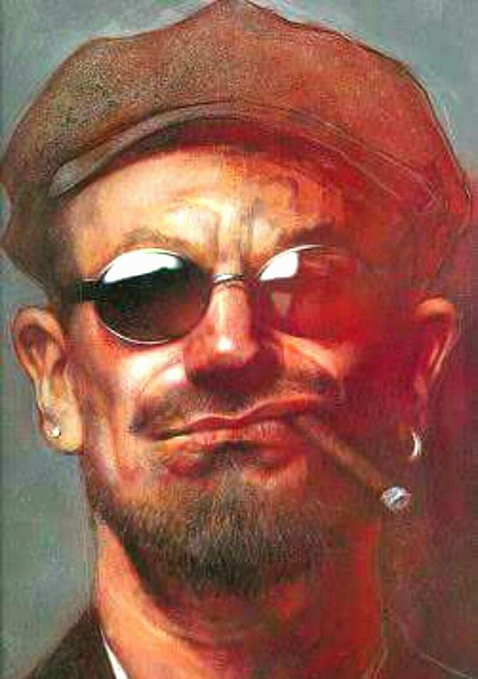 Caricature Bono
