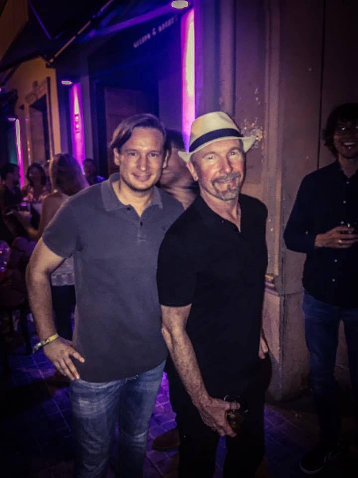 Bono, The Edge et Adam Clayton à Valence 28/07/2016