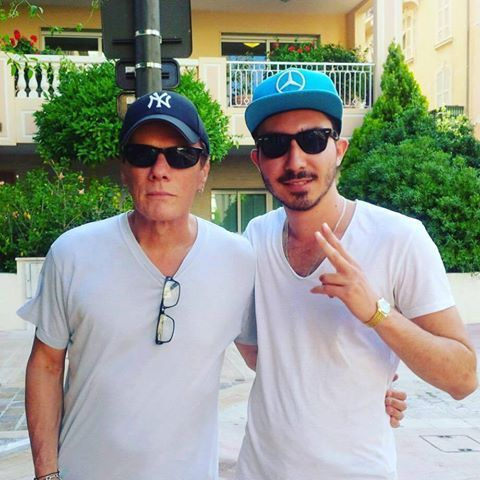 Larry Mullen Junior à Monaco 02/08/2016