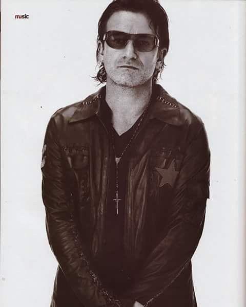 U2 -Bono  -Novenbre 2001